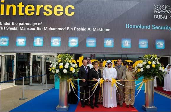 His Highness Sheikh Mansoor bin Mohammed bin Rashid Al Maktoum opens Intersec 2015