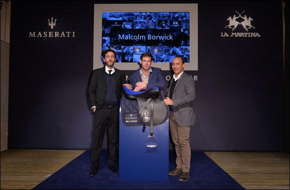 """Maserati and La Martina: an unusual """"cavalcade"""" conquers the Fortezza da Basso."""