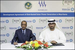 Masdar to Deliver 12 MW of Solar Power in Mauritania