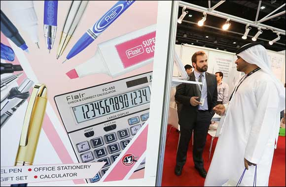 Strong German presence spearheads surge in European exhibitors at Paperworld Middle East 2015