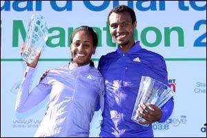 Ethiopian Clean Sweep At Standard Chartered Dubai Marathon
