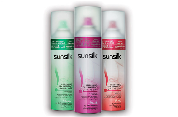 Introducing Sunsilk's First Range of Dry Shampoo