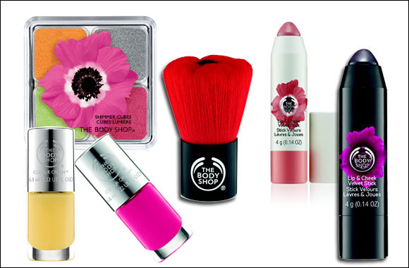 Body Euphoria Forbidden Flower body range new limited edition from The Body Shop
