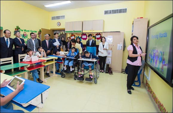 South Korea Deputy Prime Minister and Minister of Education Visits Al Noor Training Centre with Samsung Gulf Electronics