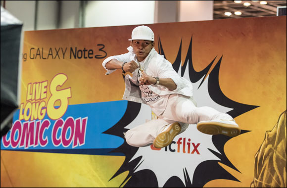 Middle East Film and Comic Con 2015 Targeting Attendance of over 50,000 Fans