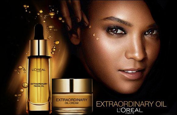 L'Oréal Unlocks Multi-Sensory Moisturizing with its Extraordinary Facial Oil