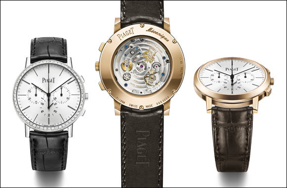 Piaget Altiplano Chronograph Double slimness record in major complication mode