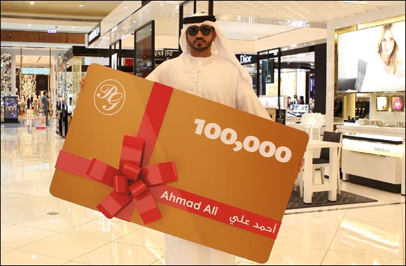 Emirati wins grand prize of 100,000 points during DSF 2015 at Paris Gallery