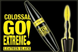 f5a8f754986 Are your lashes ready for the intensity of pure black leather? Now with  Maybelline New York's new Colossal Go Extreme Leather Black Mascara Dubai,  ...