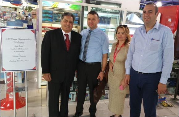 High Level Delegation of Turkish Companies Visit Al Maya Supermarket