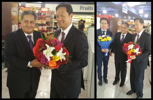 Thai Ambassador, Kamal Vachani discuss food trade potential