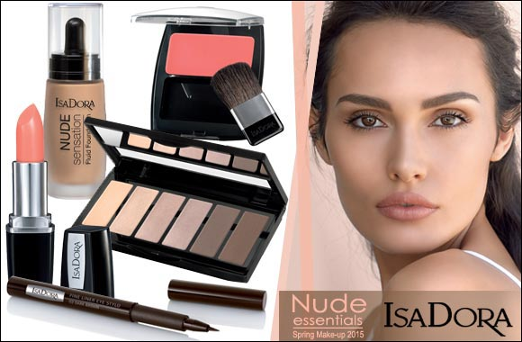 IsaDora launches the IsaDora Nude Essentials – Spring Make-up 2015