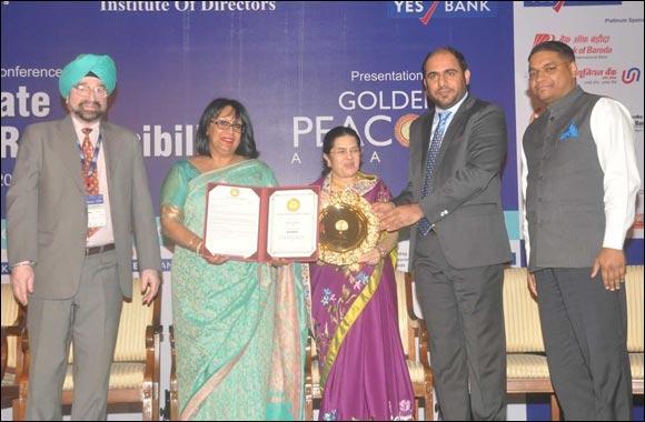Dubai Customs clinches the Golden Peacock CSR Award for the second year