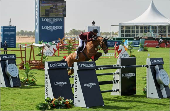 Longines marks an elegant presentation of the Furusiyya FEI Nations Cup 2015 and the President of UAE Show Jumping Cup