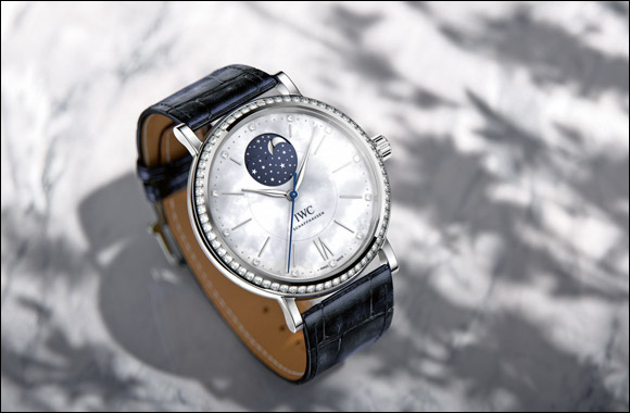 IWC Schaffhausen's portofino midsize collection adds a sparkle to the  Doha Jewellery & Watches Exhibition 2015