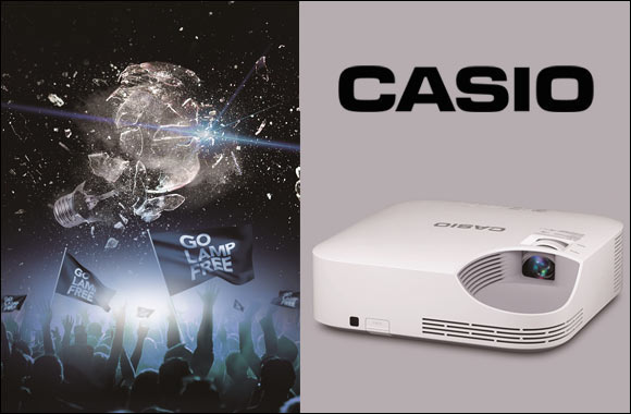 Casio set to unveil innovative Lamp-Free Projector across Middle East