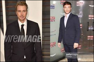 Dax Shepard and Ed Westwick wear Tommy Hilfiger tailored