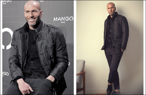 MANGO MAN presents Zinedine Zidane as the face of the brand for the Spring/Summer 2015 season