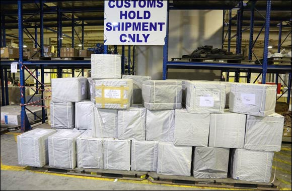 Dubai Customs seizes 3 million tramadol pills at Cargo Village