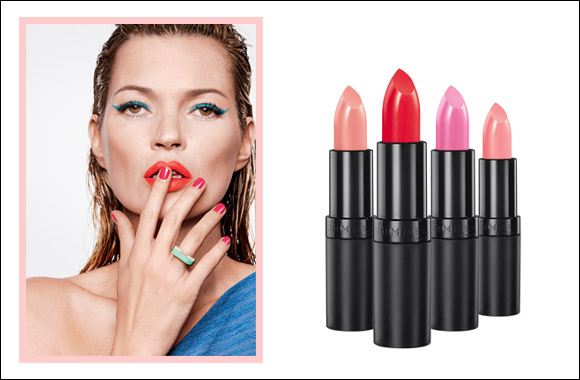 Rimmel introduces the kate bright collection for lips & nails: Go bright as you like!