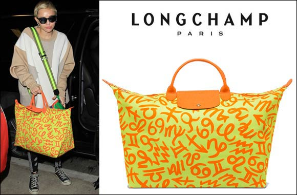 Longchamp Le Pliage Jeremy Scott