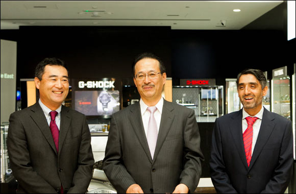 Casio Middle East opens largest G-Factory in the region at Al Ghurair Centre