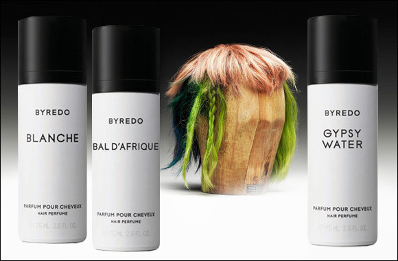 BYREDO's new hair perfume collection – a call to care for and delicately scent your hair