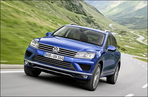 Ali & Sons welcomes new Touareg in Abu Dhabi & Al Ain