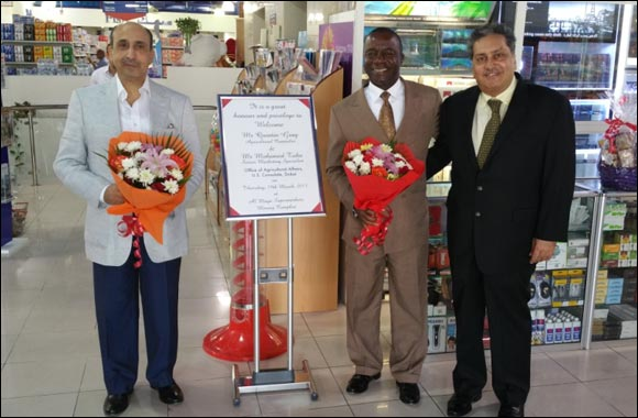 Agricultural Counselor of office of US Agricultural Affairs, Dubai visits Al Maya Supermarket