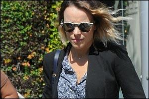 Armani Exchange Style Alert - Rachel McAdams wears Armani Exchange