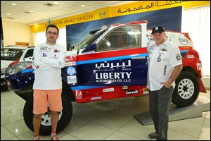 Opel Dakar Team sets sight on top finish at the Abu Dhabi Desert Challenge 2015