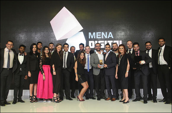 Region's Top Digital Talent Honoured at MENA Digital Awards Ceremony