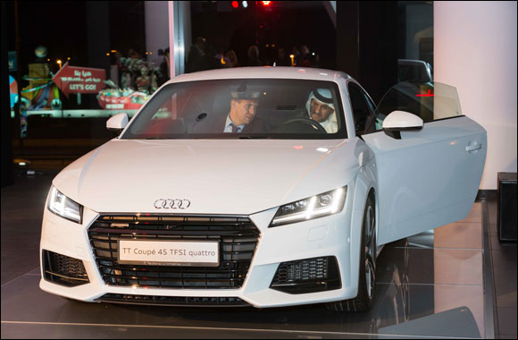 Al Nabooda Automobiles unveils highly anticipated all new Audi TT at Dubai showroom event
