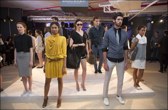 Banana Republic takes you on a modern journey into summer inspired by an open road trip