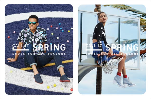 CALL IT SPRING gets wet & wild in its Spring/Summer 2015 Ad Campaign
