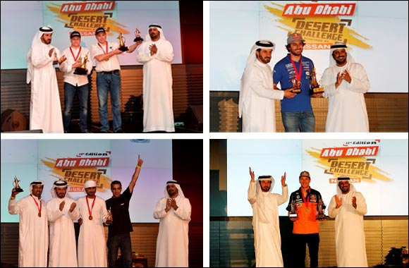 Glittering prize giving rounds off Desert Challenge