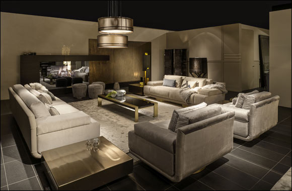 Luxury home new arrivals from aati ligne roset harvey nichols dubai Home furniture exhibition dubai