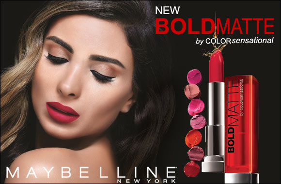 Color Sensational Bold Matte from Maybelline New York