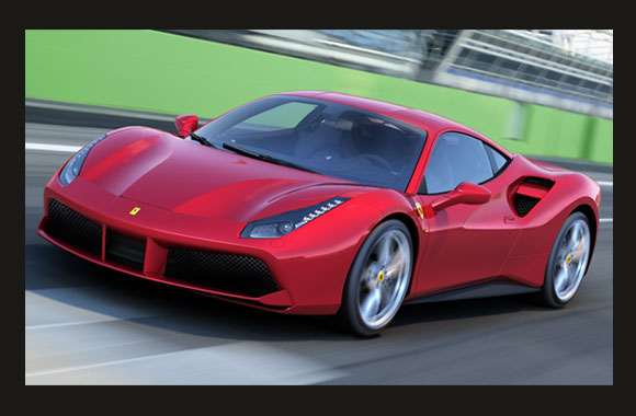 Ferrari 488 GTB to be displayed in the UAE