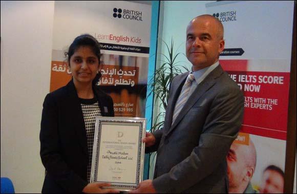 Arushi Madan (an environmental activist) , honoured with International Diana Award
