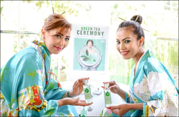 The Body Shop NEW Fuji Green Tea Range Launch Event