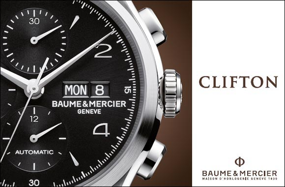 "Clifton Chronograph Black ""Black is Beautiful"""