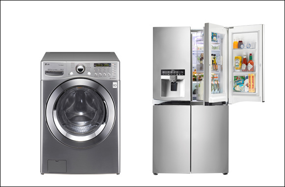 LG Solidifies its No1 Position in the Refrigerator and Washing Machine Segments in the UAE
