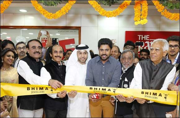 Bhima Jewellers successfully launches its first store in Dubai with Nivin Pauly