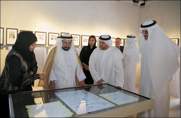 HH Ruler of Sharjah Visits Sharjah Fort