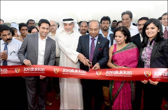 Joyalukkas opens the Biggest Jewellery store in Kuwait at Al Rai