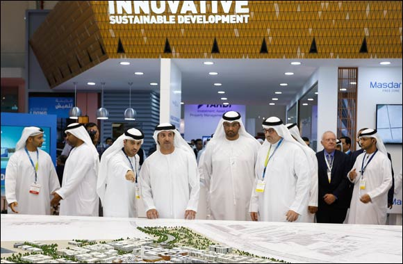 His Highness Sheikh Hazza Bin Zayed Al Nahyan opens Cityscape Abu Dhabi