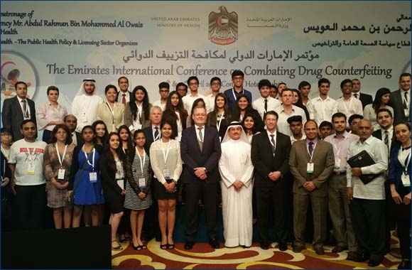 "UAE Youth gain insight into ""Combating Drug Counterfeiting"""