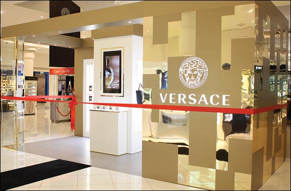 The First Versace Counter opens at Paris Gallery