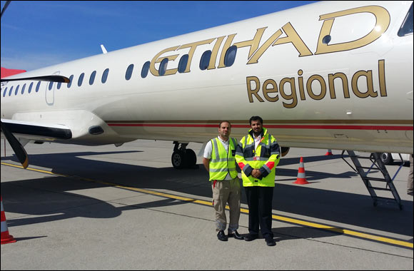 Etihad Airways' Emirati Graduate Engineers to Receive On-The-Job Training from Etihad Regional